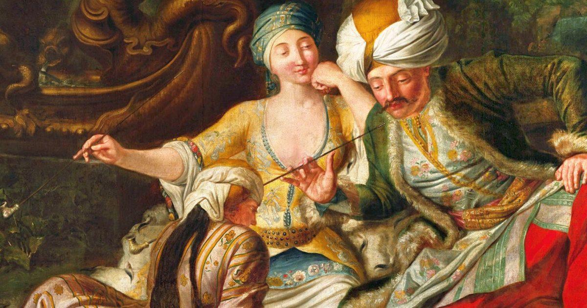 Гомосексуальные связи при дворе в османской империи